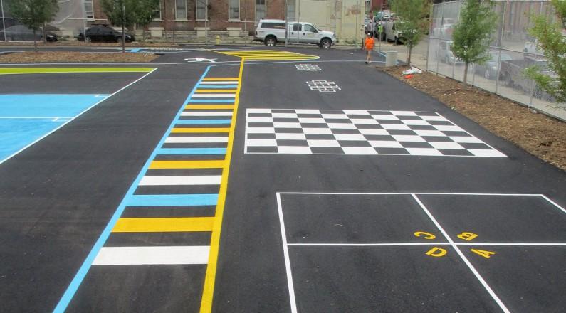 Painted Playground Games