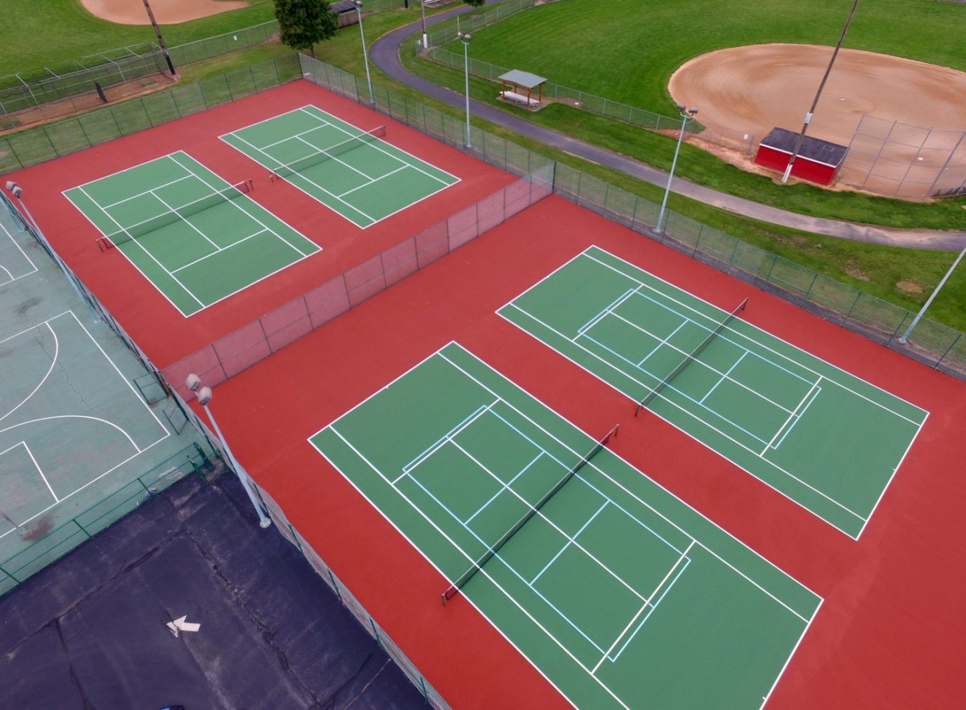 Tennis Court Repair, Resurfacing, & Color Coating